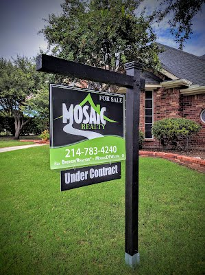 Mosaic Realty Under Contract Listing Sign